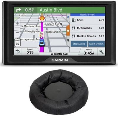 Drive 60LM GPS Navigator (US) 010-01533-0C Portable Dashboard Mount Bundle