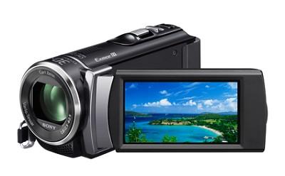HDR-CX200 HD Camcorder 16GB Flash Mem, 5.3MP Stills 25x Zoom (Black) - OPEN BOX