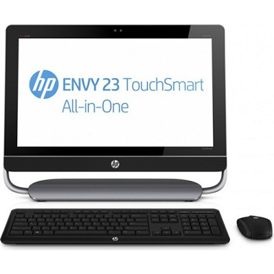 ENVY 23-d150 TouchSmart 23` HD All-in-One Desktop PC - Intel Core i7-3770S Proc.