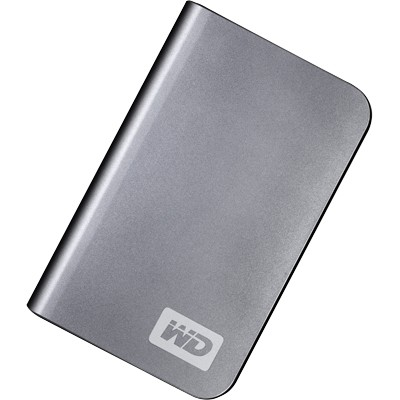 My Passport Elite Portable 250GB  External Hard Drive - Titanium { WDML2500TN }