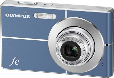 FE-3000 10MP 2.7` LCD Digital Camera (Blue)