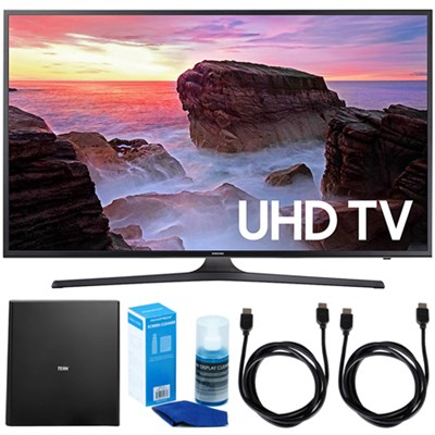 40` 4K Ultra HD Smart LED TV (2017 Model) w/ Terk Indoor Antenna Bundle
