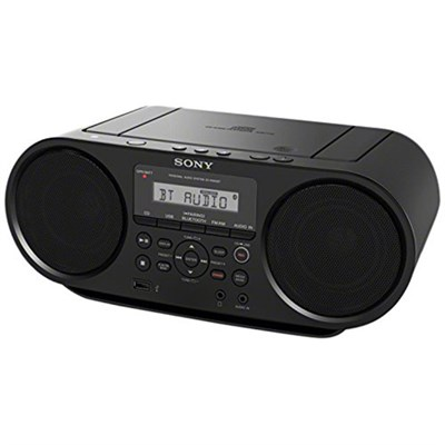 ZS-RS60BT CD Boombox with Bluetooth, 4-Watt - OPEN BOX