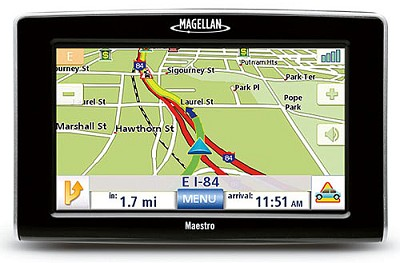 Maestro 5310 Portable Vehicle Navigation System w/ 5` Touch screen