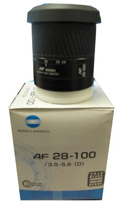 AF 28-100mm f/3.5-5.6 lens - OPEN BOX