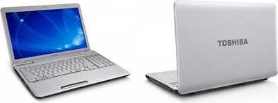Satellite L655-S5078WH 15.6` Notebook PC - Helios White