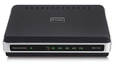 5-Port 10/100 Unmanaged Switch, External Power