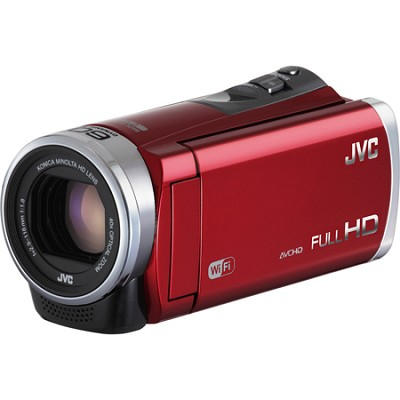 GZ-EX310RUS - HD Everio Camcorder 40x Zoom f1.8 (Red)