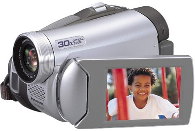 PV-GS29 Digital Palmcorder with 30x Optical Zoom/1000x Digital Zoom - OPEN BOX
