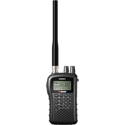 BC72XLT 100-Channel Compact Handheld Scanner - Black