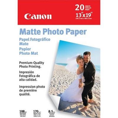 Photo Paper Matte, 13 x 19 Inches, 20 Sheets (7981A011)