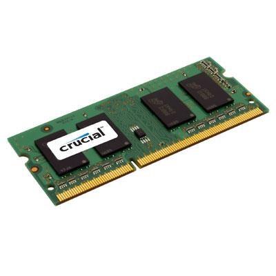 4GB Single 1600MHz SODIMM DDR3 204-Pin Server Memory - CT51264BF160BJ