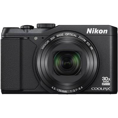COOLPIX S9900 16MP HD 1080p 30x Opt Zoom Digital Camera - Black