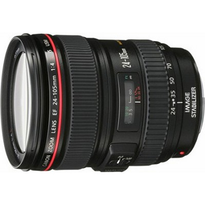EF 24-105mm f/4 L IS USM Lens for Canon EOS SLR Cameras