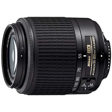 55-200mm F/4-5.6G ED AF-S DX Zoom-Nikkor Lens Factory Refurbished
