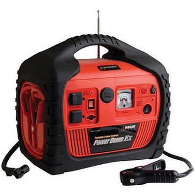 400-Watt Power Dome EX Jumpstarter with Built-In Air Compressor