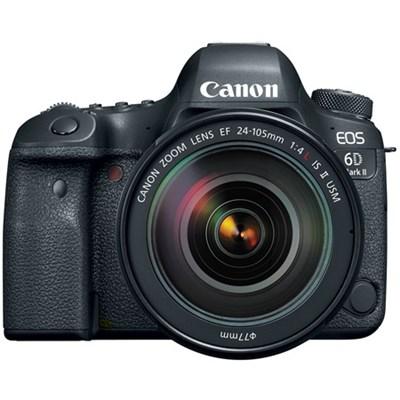 EOS 6D Mark II 26.2MP Full-Frame Digital SLR Camera with 24-105mm IS II USM Lens