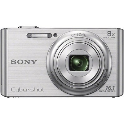 DSCW730 16 MP 2.7-Inch LCD Digital Camera - Silver