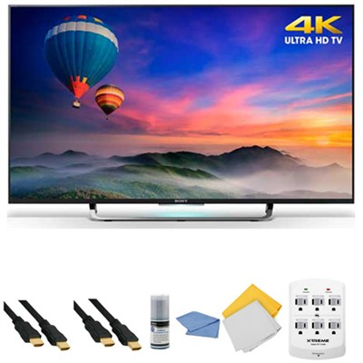 XBR-49X830C - 49-Inch 4K Ultra HD Smart Android LED HDTV + Hookup Kit