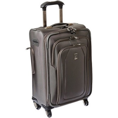 Luggage Crew 9 - 21` Expandable Spinner Suiter (Titanium) - 407126105