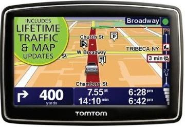 TomTom XL 340TM 4.3` Portable GPS Navigator Lifetime Traffic & Map updates