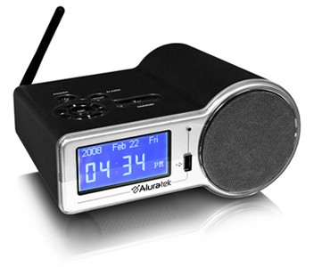 Internet Radio Alarm Clock with Built In WIFI AIRMM01F