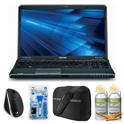Satellite A665-3DV5 15.6` Notebook PC Essentials Bundle