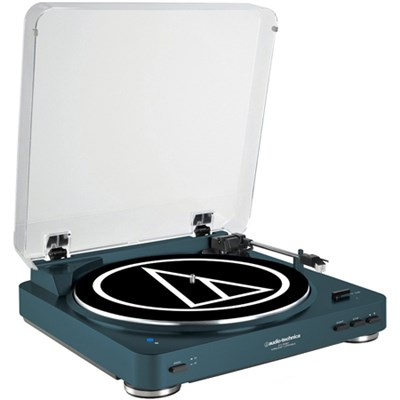 Fully Automatic Bluetooth Wireless Belt-Drive Stereo Turntable, Navy