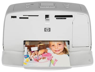 Photosmart 325 - 4` x 6`  Paper Compact Printer - OPEN BOX
