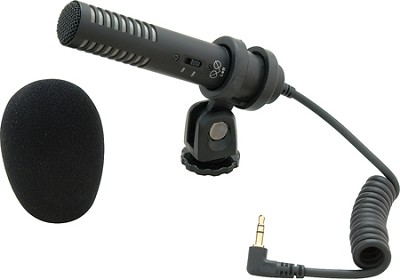 PRO24-CM Stereo Condenser Shotgun Microphone for camcorders