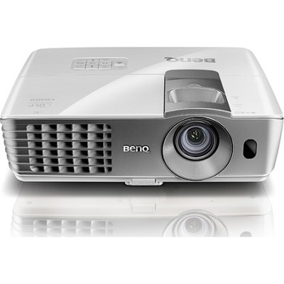 W1070 1080P 3D Home Theater Projector (Silver)