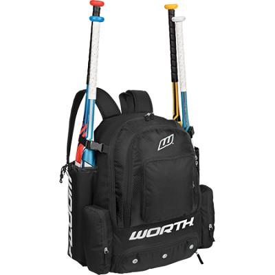 Comrade Baseball Equipment Sport Backpack - Black