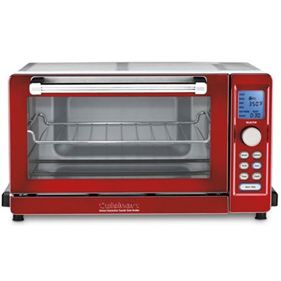 TOB-135 Deluxe Convection Toaster Oven Broiler, Metallic Red - Refurbished