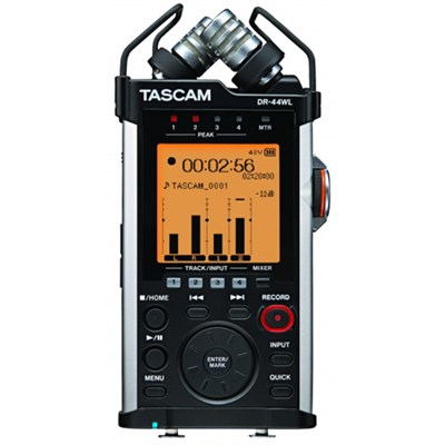 Portable Recorder with XLR and Wi-fi DR-44WL