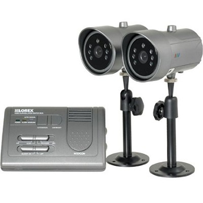 SHS-2SF Home Video Surveillance with Indoor/Outdoor Night Vision Security Camera