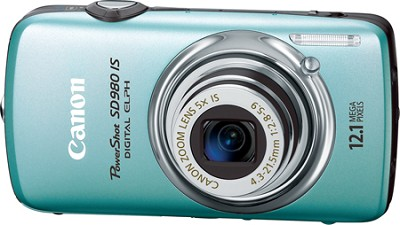 Powershot SD980 IS Digital ELPH Digital Camera (Blue)