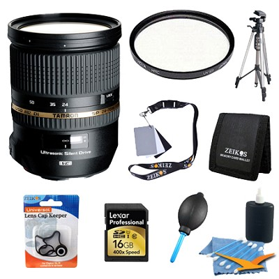 SP 24-70mm f2.8 Di VC USD Nikon Mount Exclusive Pro Kit