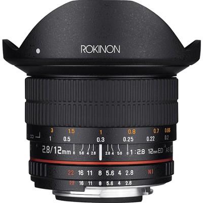 12mm F2.8 Ultra Wide Full Frame Fisheye Lens for Nikon AE