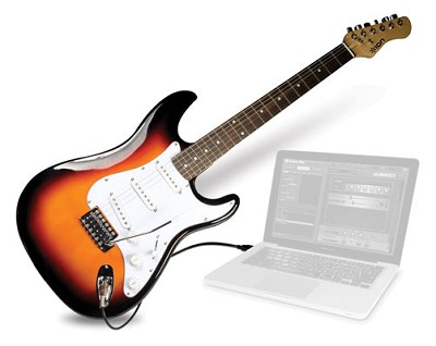 Ion Discover Guitar Discover Guitar For Computers Plug N Play Usb Connection