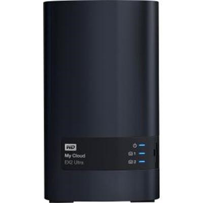 Diskless My Cloud EX2 Ultra 2bay NAS Device - WDBVBZ0000NCH-NESN