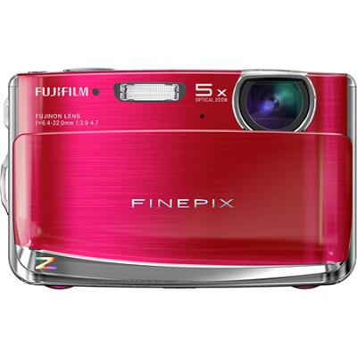 FINEPIX Z70 12 MP Digital Camera (Berry)