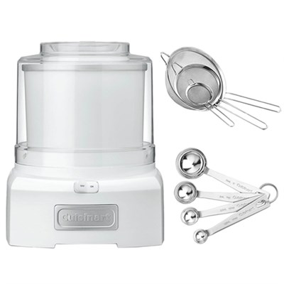 ICE-21 Frozen Yogurt-Ice Cream & Sorbet Maker with Exclusive Bundle