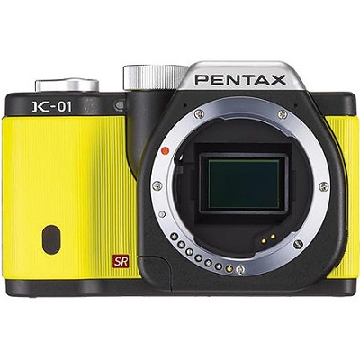 K-01 Digital SLR Yellow Camera w/ 16 MP, 3 inch LCD, 1080p HD Video