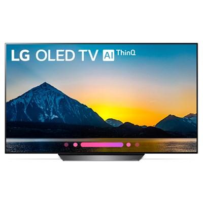 OLED65B8PUA 65` Class B8 OLED 4K HDR AI Smart TV (2018 Model)