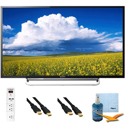 KDL40W600B - 40` LED Full HD 1080p Smart TV 60Hz Plus Hook-Up Bundle
