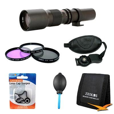 Super Lens Kit for the Vivitar Universal V500PRE Lens