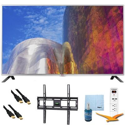 50LB5900 - 50-Inch Full HD 1080p 120hz LED HDTV Plus Mount & Hook-Up Bundle
