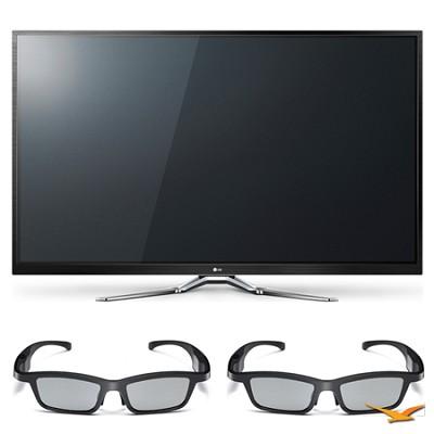 50PM9700 50` 1080p 3D Slim Bezel Plasma Smart HD TV and 3D Glasses Bundle