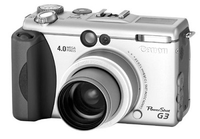 Powershot G3 Digital Camera