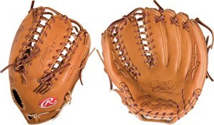 Gold Baseball Glove Limited 12.75 inch Dual Core Outfield Baseball Glove